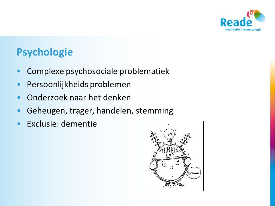 Psychologie Complexe psychosociale problematiek