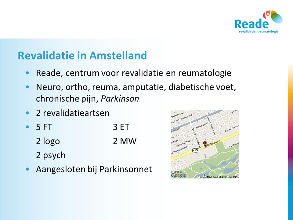 Revalidatie in Amstelland