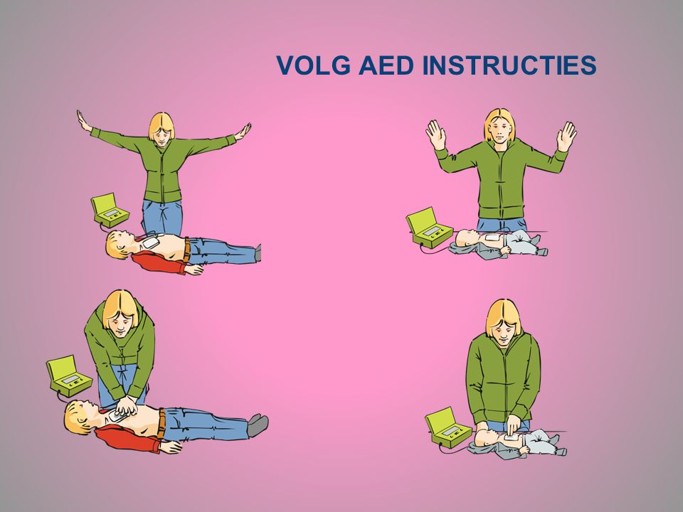 VOLG AED INSTRUCTIES