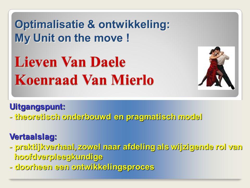 Lieven Van Daele Koenraad Van Mierlo
