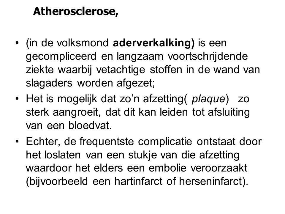 Atherosclerose,
