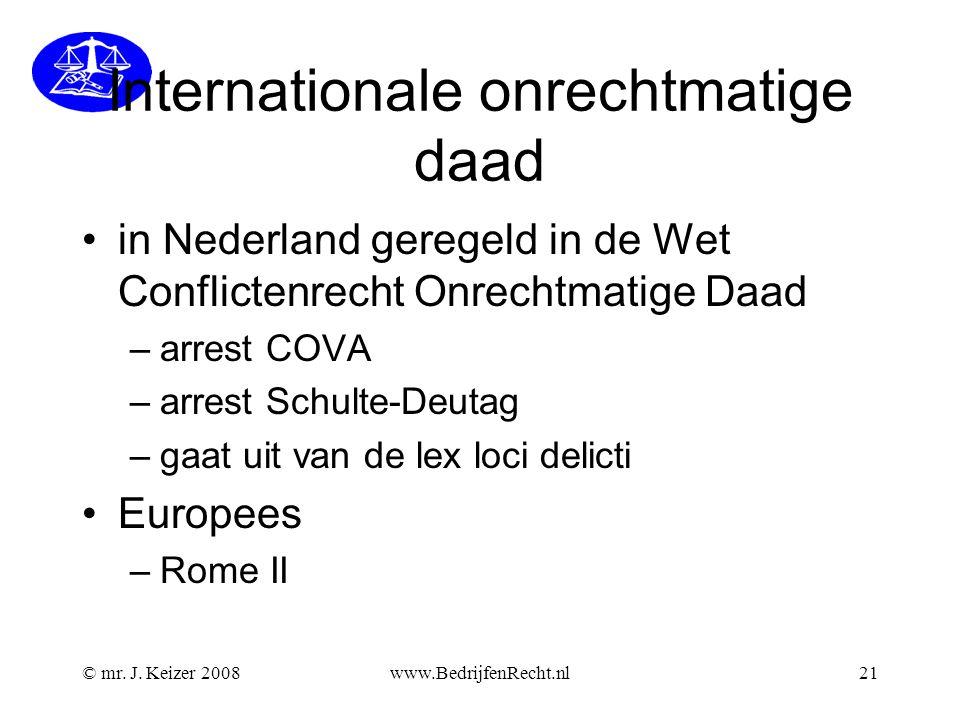 Internationale onrechtmatige daad