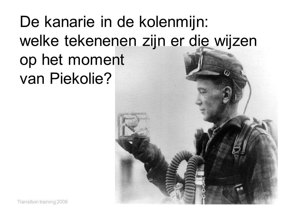 De kanarie in de kolenmijn: welke tekenenen zijn er die wijzen op het moment van Piekolie
