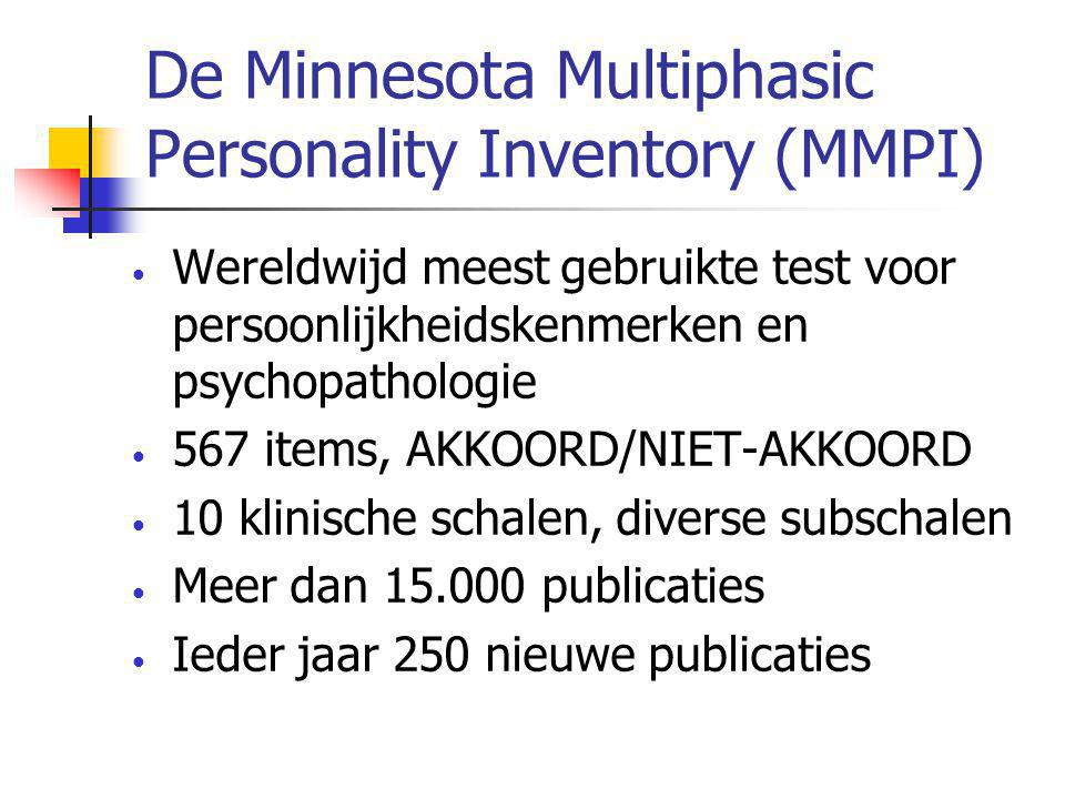 De Minnesota Multiphasic Personality Inventory (MMPI)