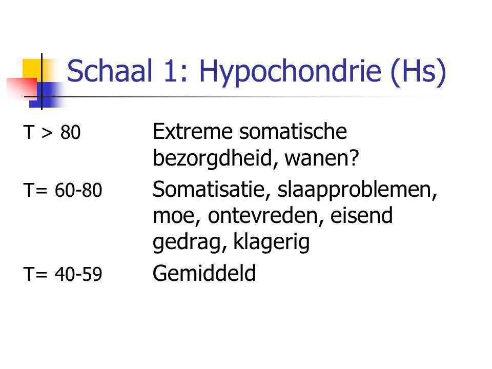 Schaal 1: Hypochondrie (Hs)