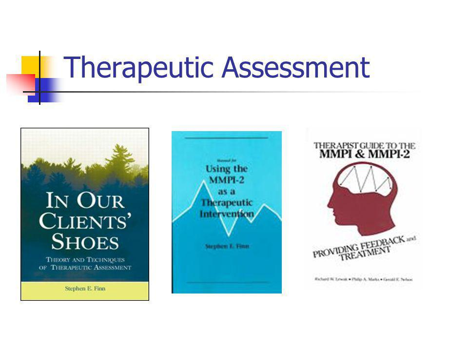 Therapeutic Assessment