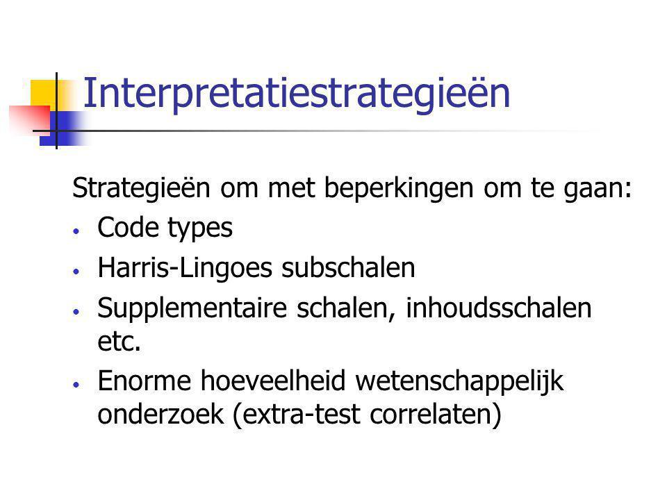 Interpretatiestrategieën