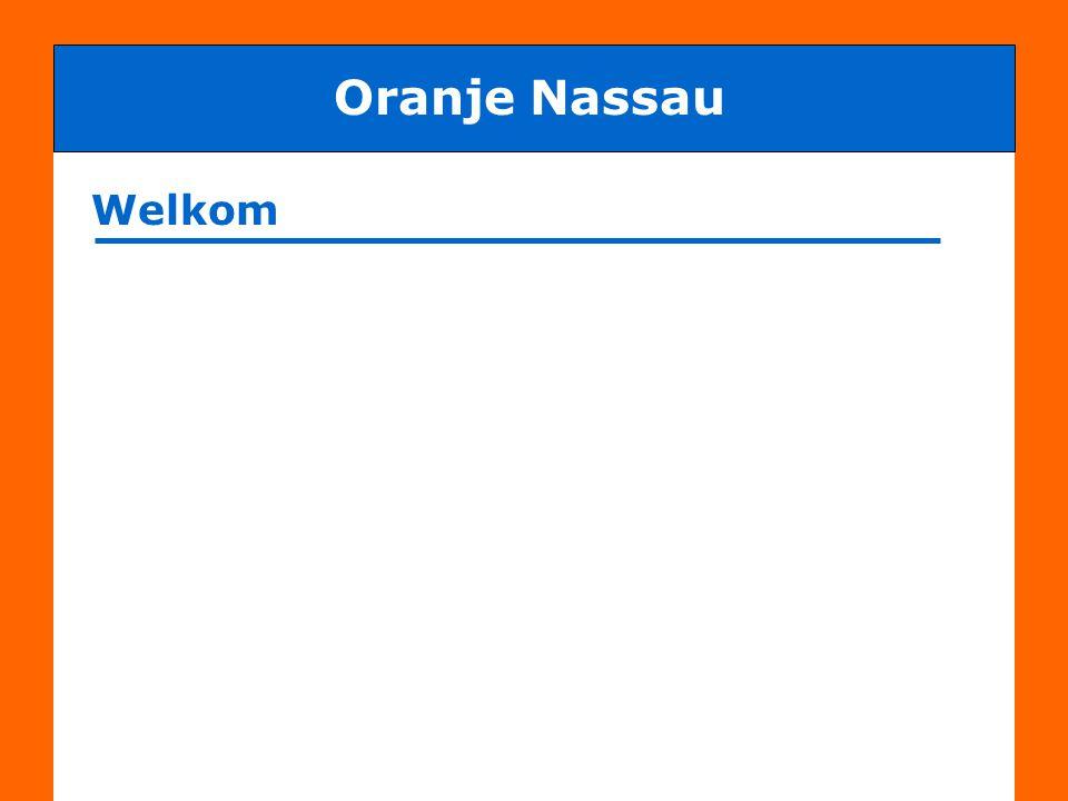 Oranje Nassau Welkom