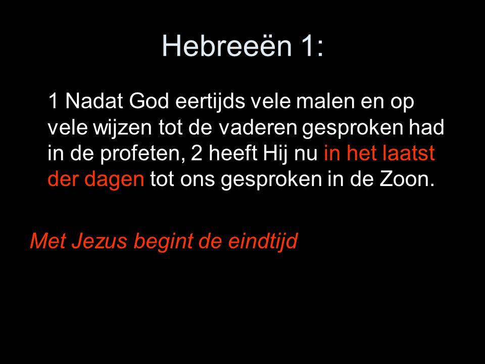 Hebreeën 1: