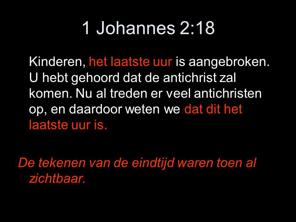 1 Johannes 2:18