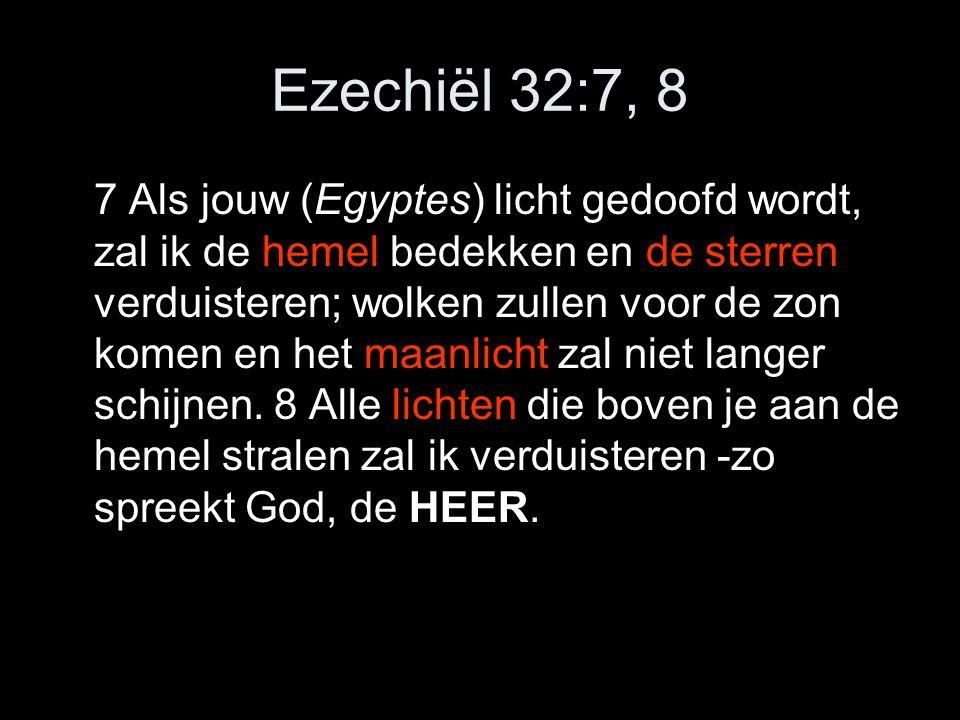 Ezechiël 32:7, 8