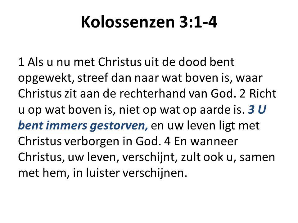 Kolossenzen 3:1-4