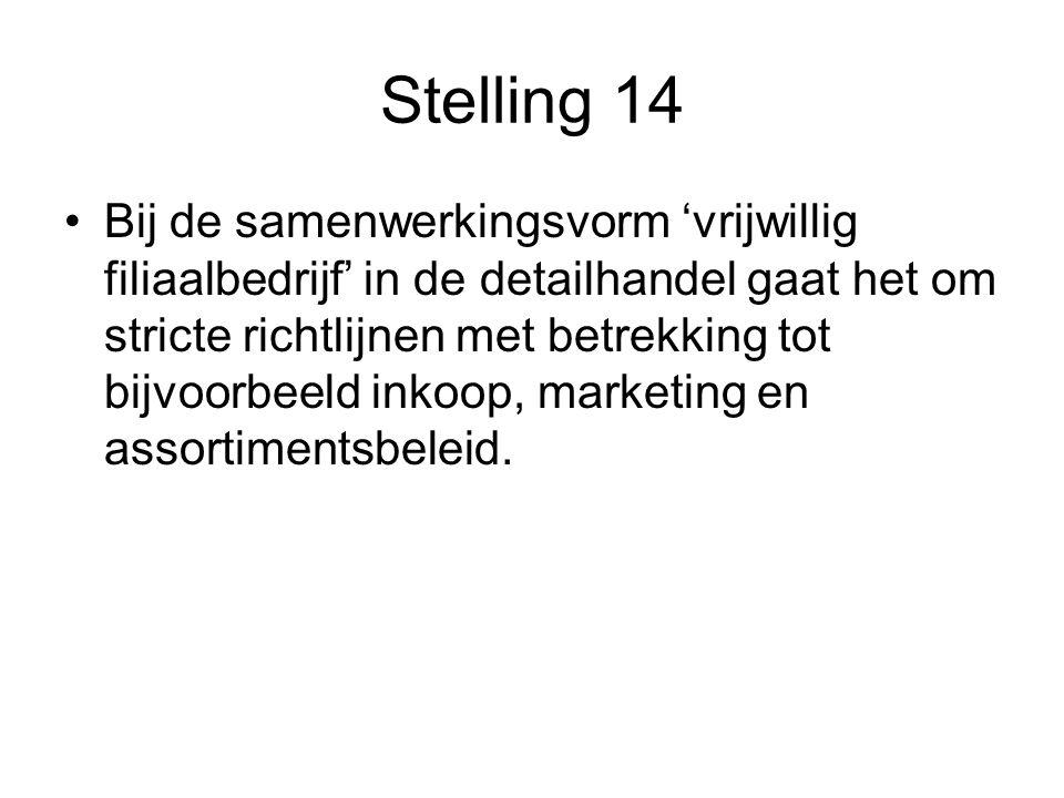 Stelling 14