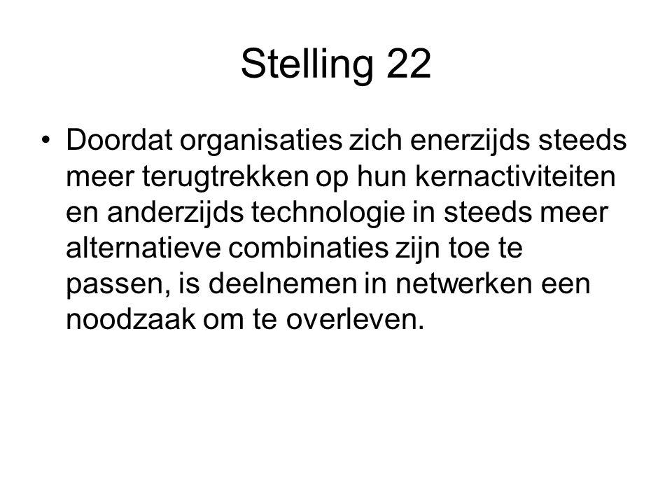 Stelling 22