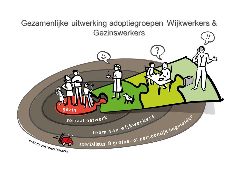 Gezamenlijke uitwerking adoptiegroepen Wijkwerkers & Gezinswerkers