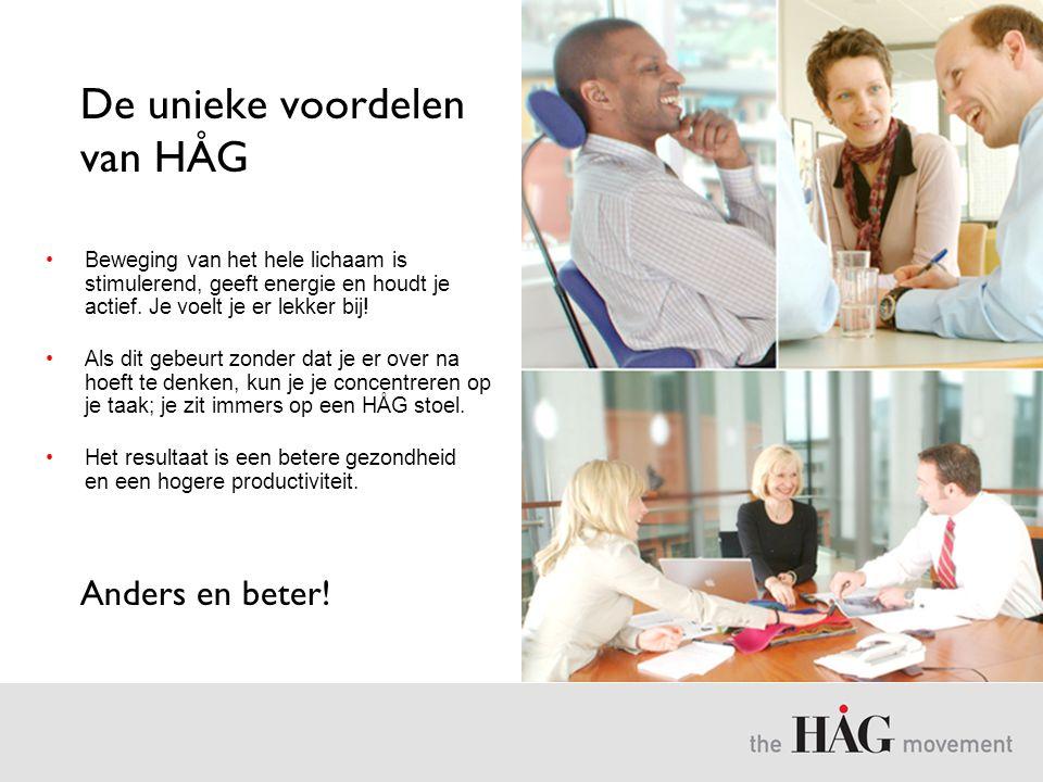 De unieke voordelen van HÅG