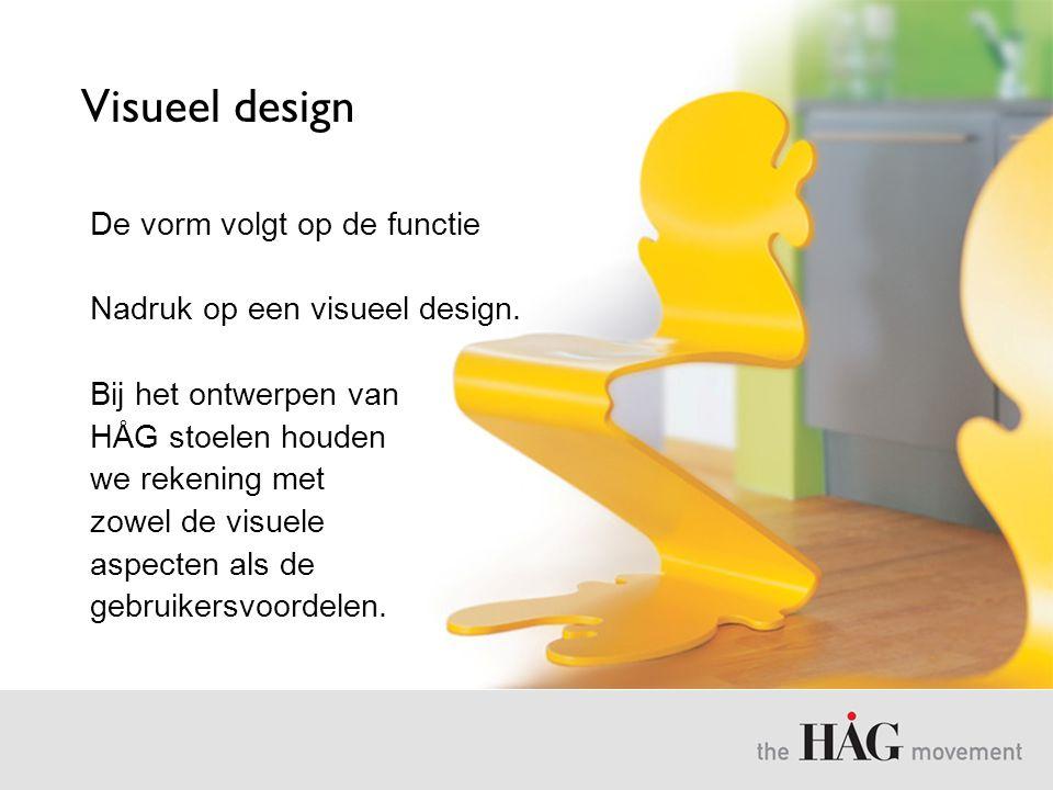 Visueel design De vorm volgt op de functie
