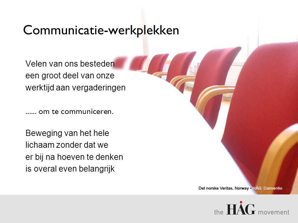 Communicatie-werkplekken