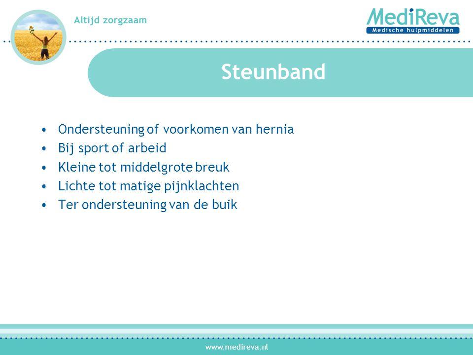 Steunband Ondersteuning of voorkomen van hernia Bij sport of arbeid