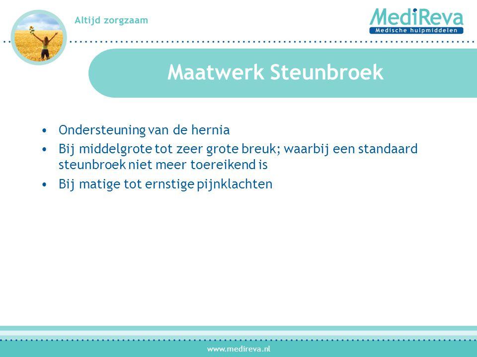 Maatwerk Steunbroek Ondersteuning van de hernia