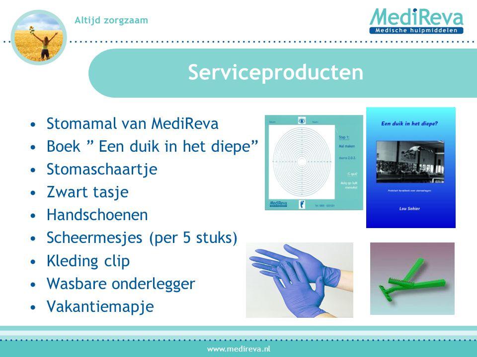 Serviceproducten Stomamal van MediReva Boek Een duik in het diepe