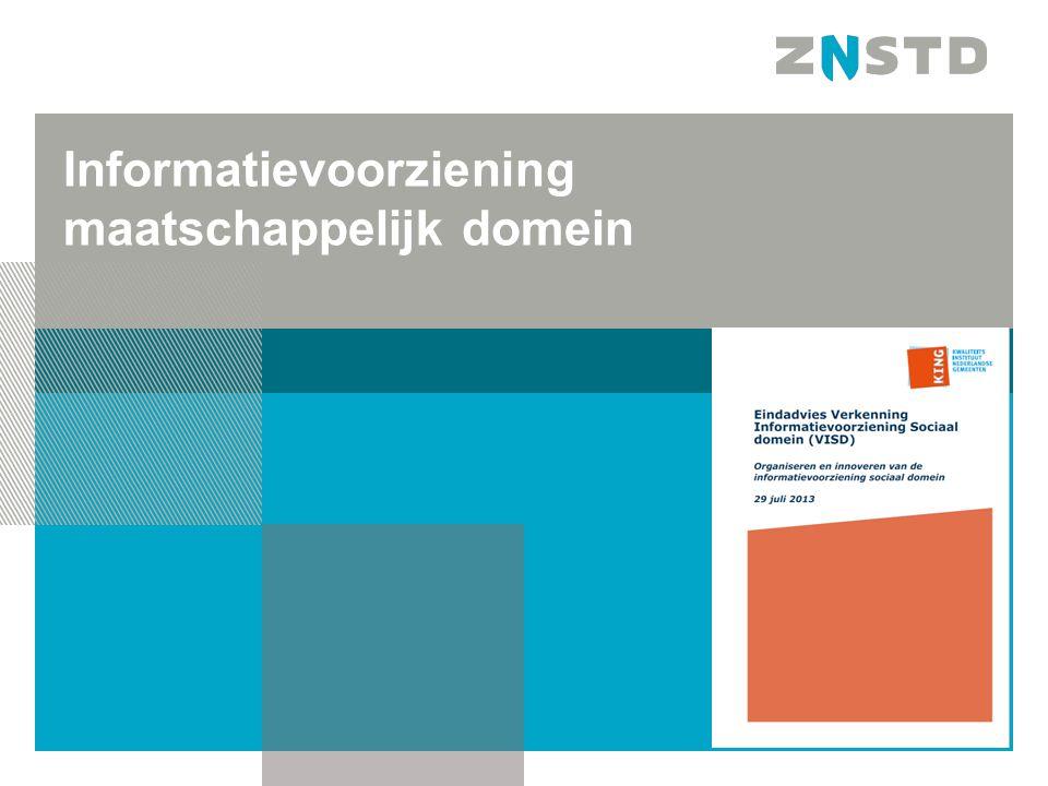 Informatievoorziening maatschappelijk domein