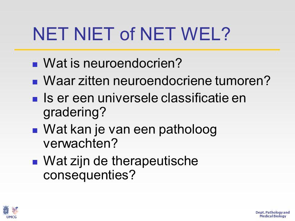 NET NIET of NET WEL Wat is neuroendocrien