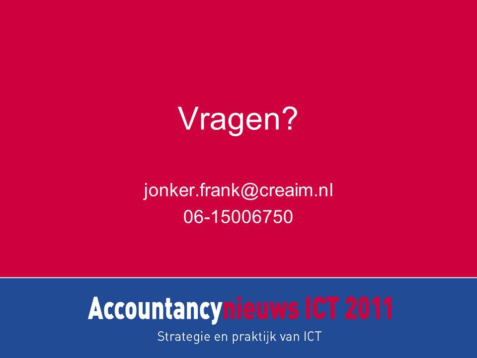 jonker.frank@creaim.nl 06-15006750