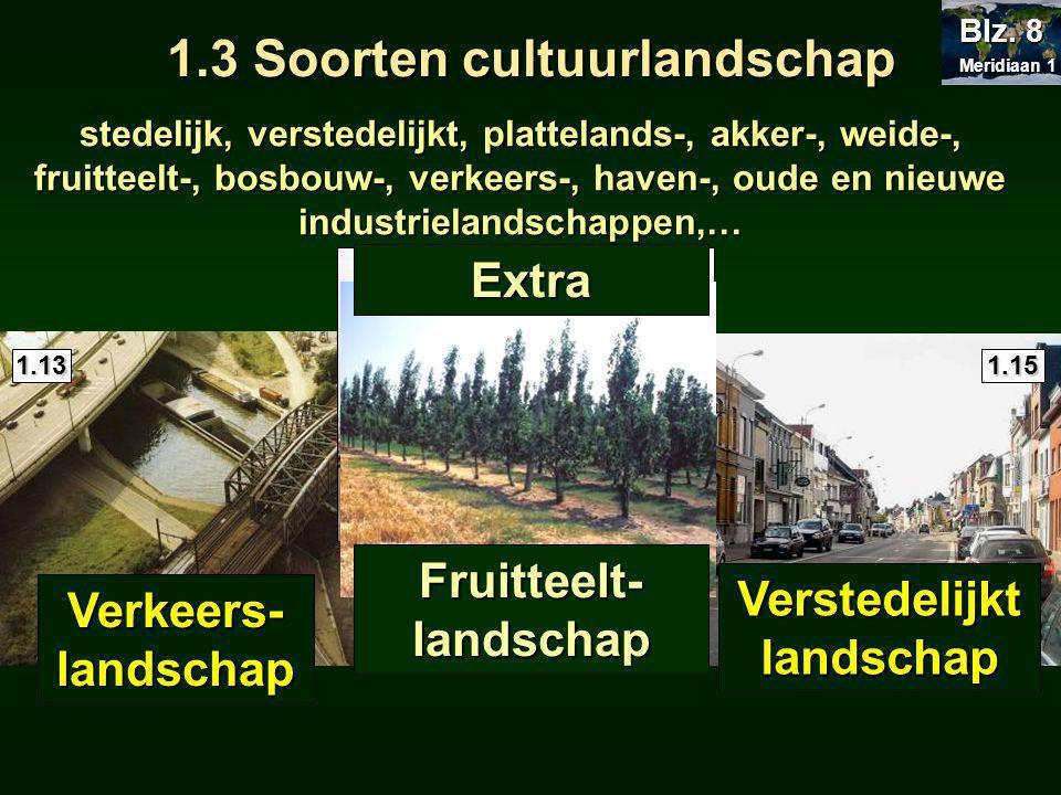 1.3 Soorten cultuurlandschap