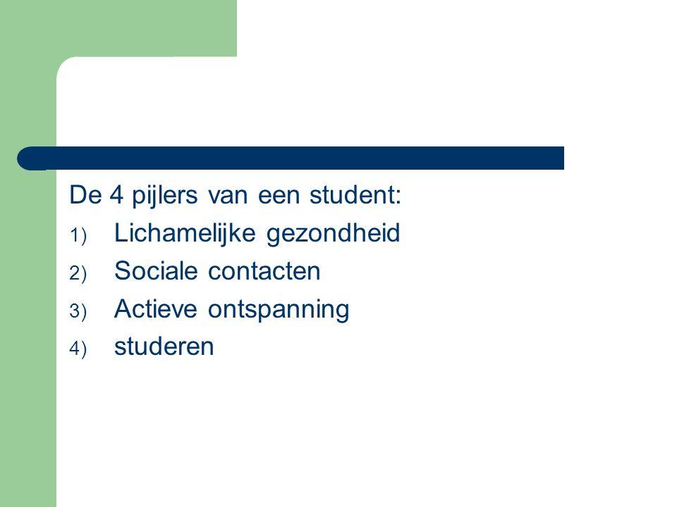 De 4 pijlers van een student: