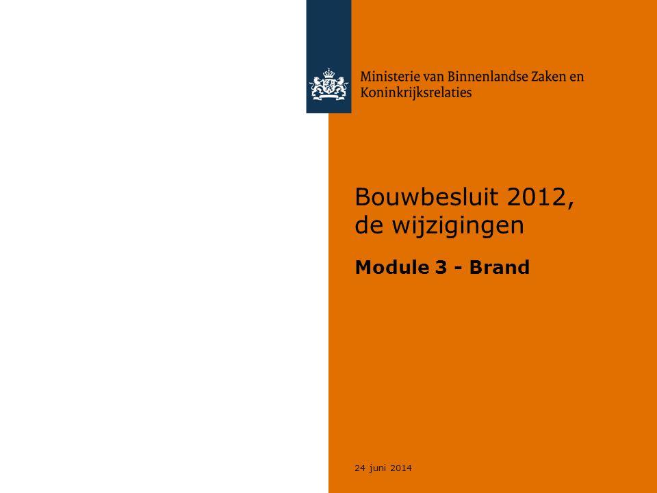 Bouwbesluit 2012, de wijzigingen