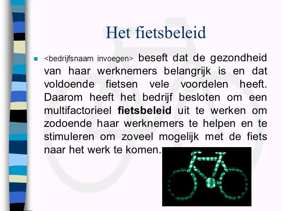 Het fietsbeleid