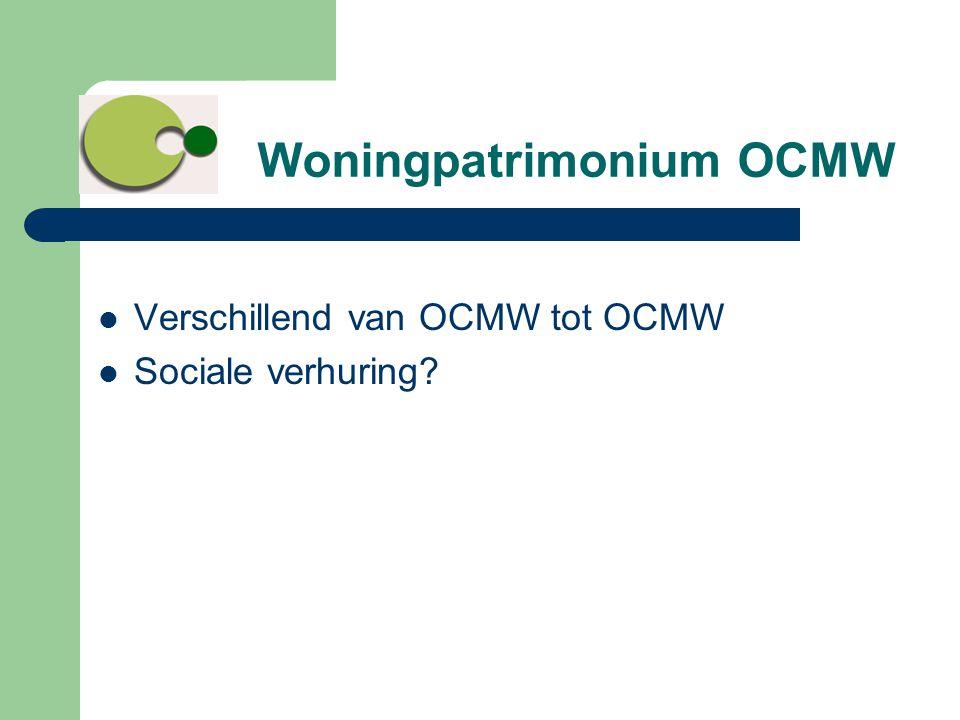 Woningpatrimonium OCMW