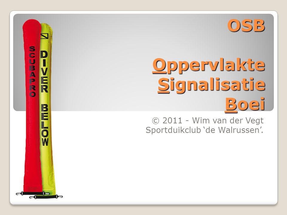 OSB Oppervlakte Signalisatie Boei