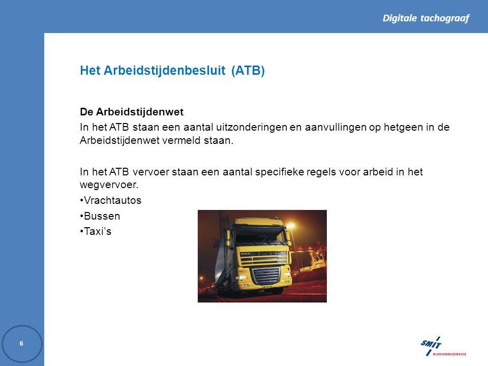 Het Arbeidstijdenbesluit (ATB)