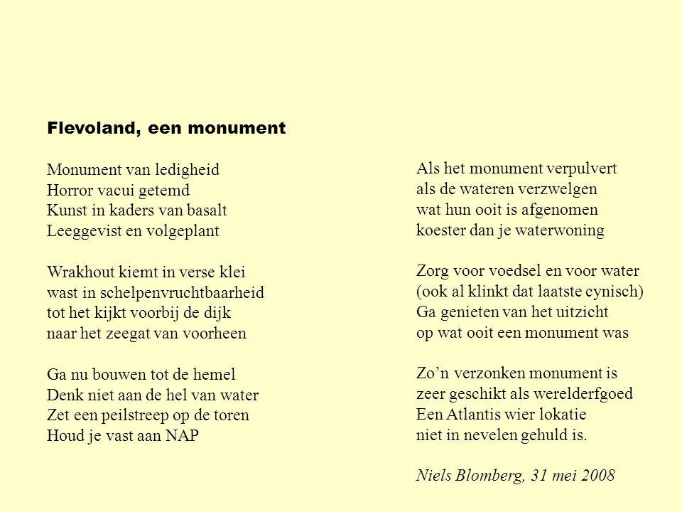 Flevoland, een monument