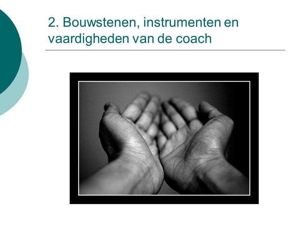 2. Bouwstenen, instrumenten en vaardigheden van de coach