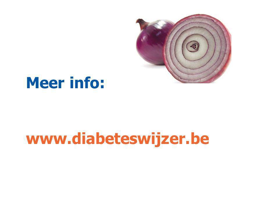 Meer info: www.diabeteswijzer.be