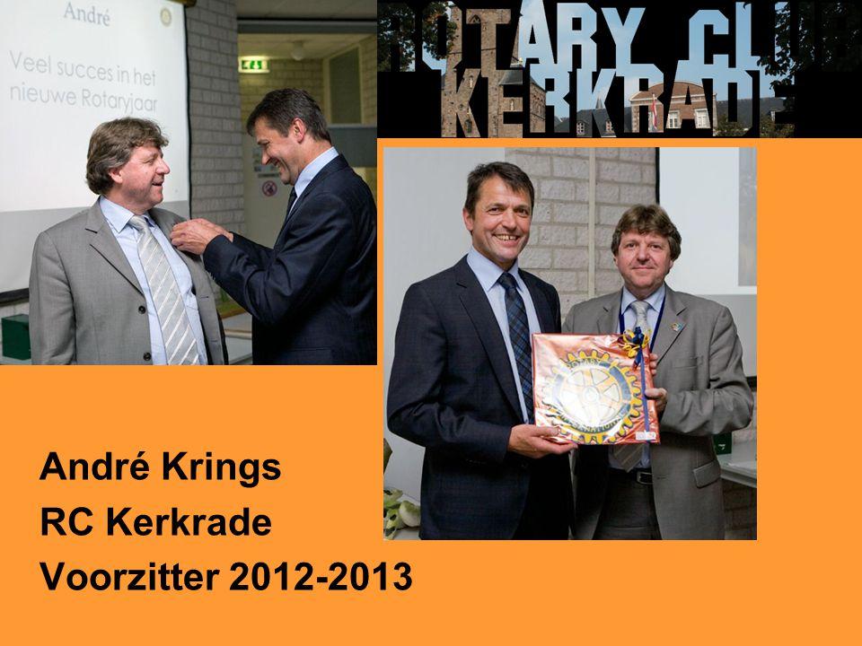 André Krings RC Kerkrade Voorzitter 2012-2013