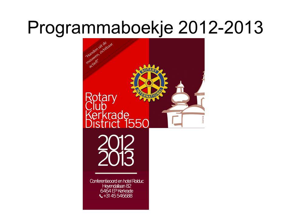 Programmaboekje 2012-2013