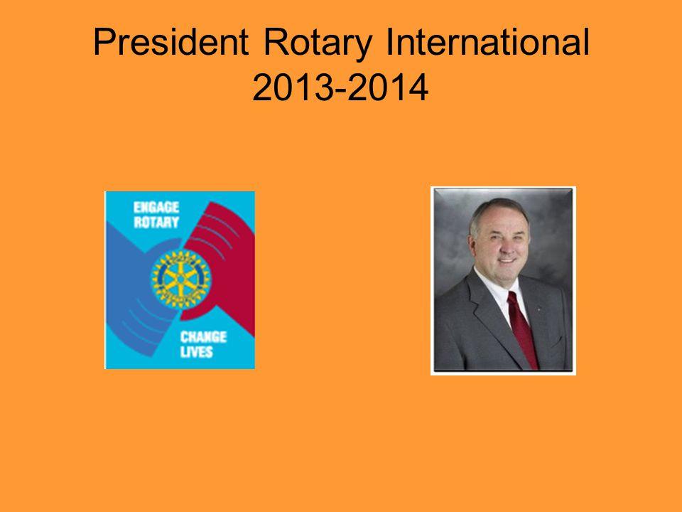 President Rotary International 2013-2014