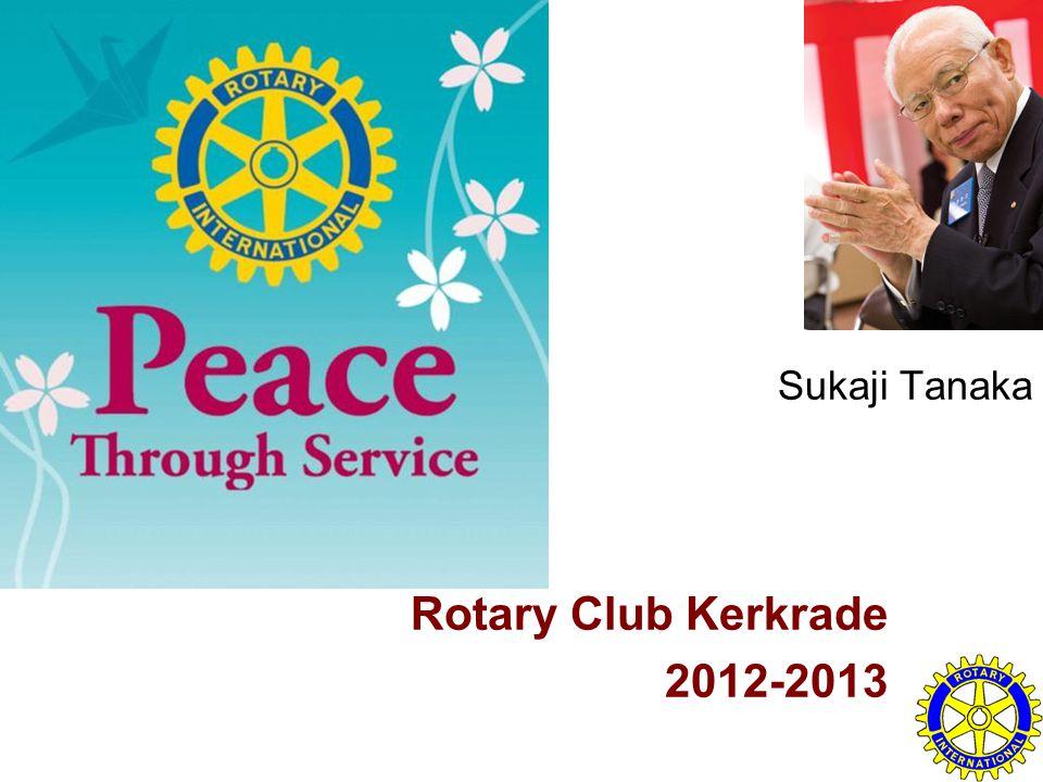 Sukaji Tanaka Rotary Club Kerkrade 2012-2013