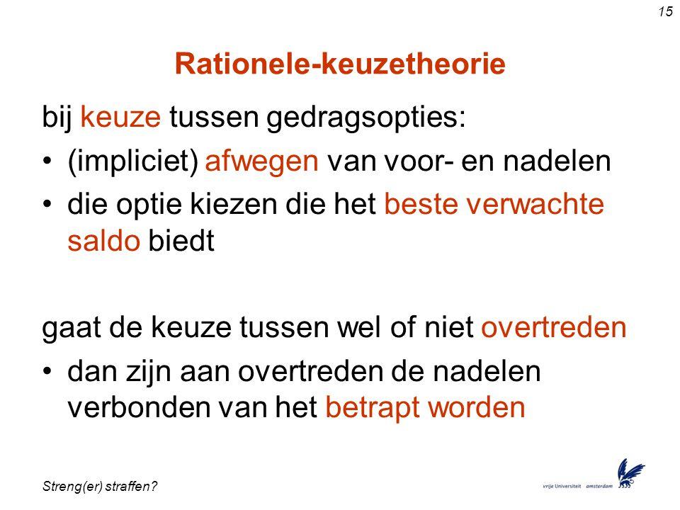 Rationele-keuzetheorie