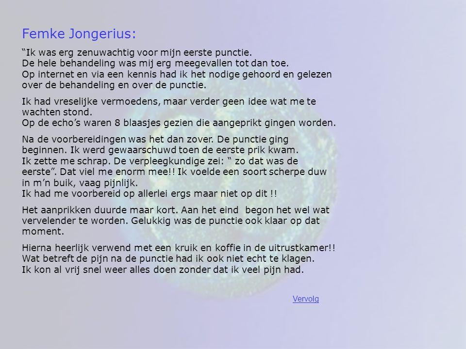 Femke Jongerius: