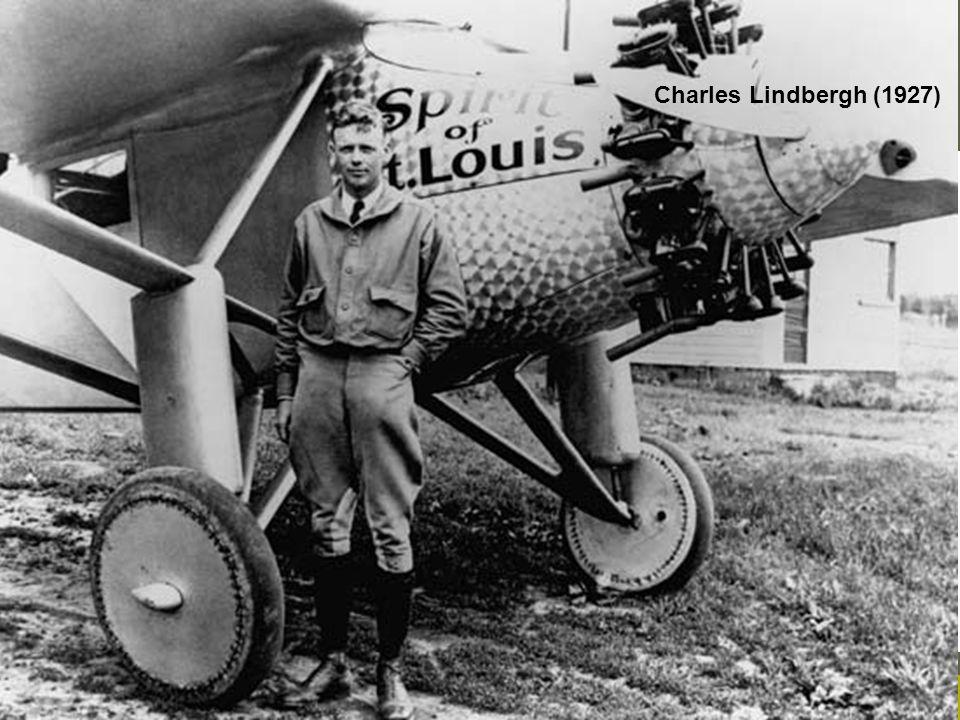 Charles Lindbergh (1927) Aisha Cortoos