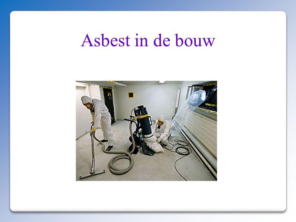 Asbest in de bouw