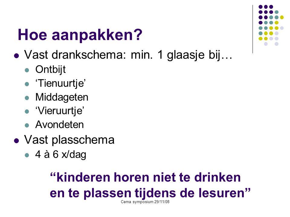 Hoe aanpakken kinderen horen niet te drinken