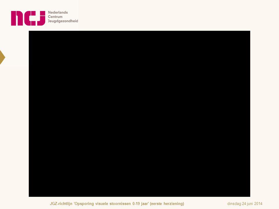 JGZ-richtlijn Opsporing visuele stoornissen 0-19 jaar (eerste herziening)