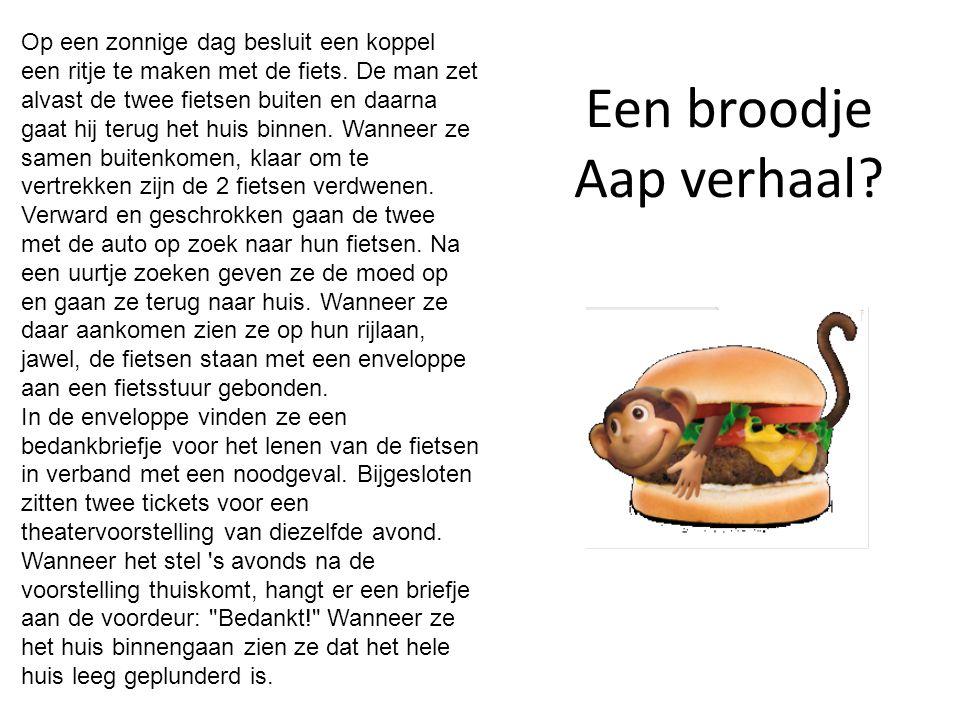Een broodje Aap verhaal