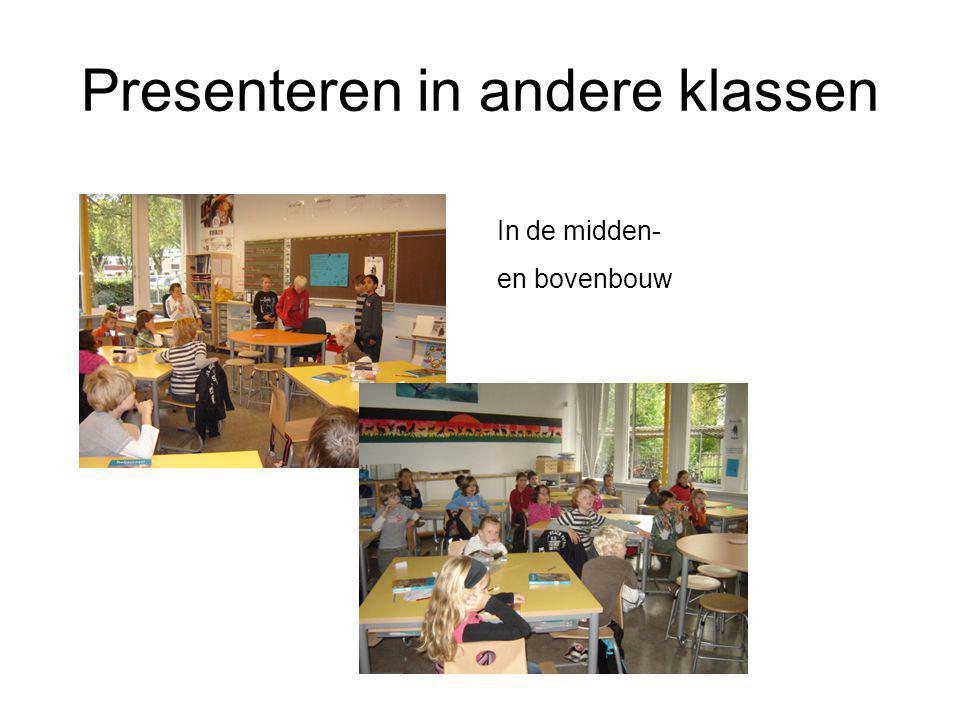 Presenteren in andere klassen